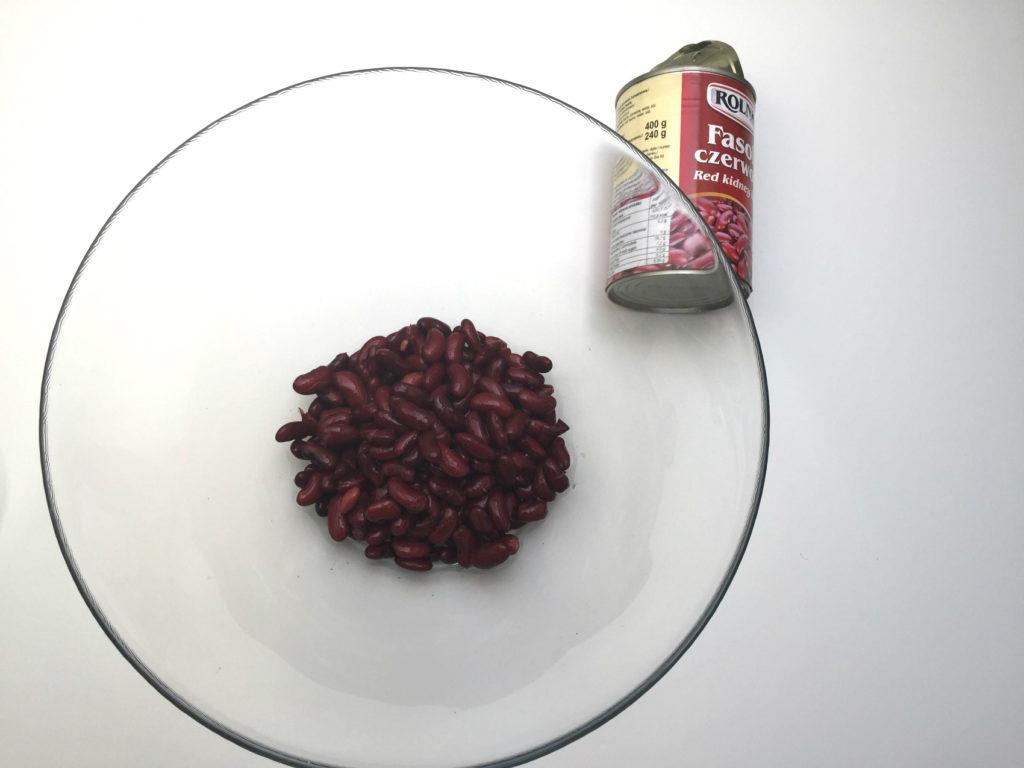 brownie z fasoli - etap 2 fasola
